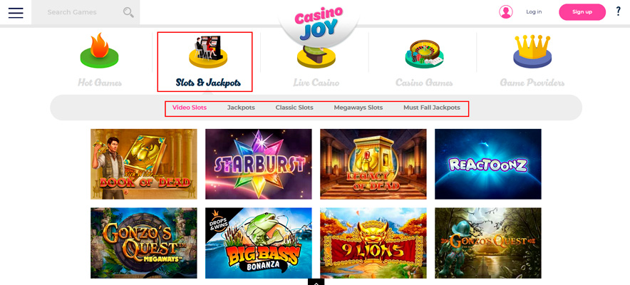 Casino Joy image