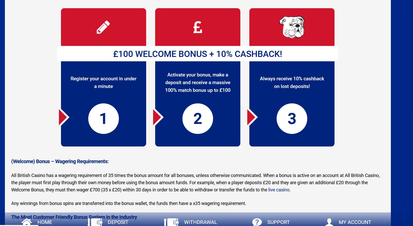 All British Casino image