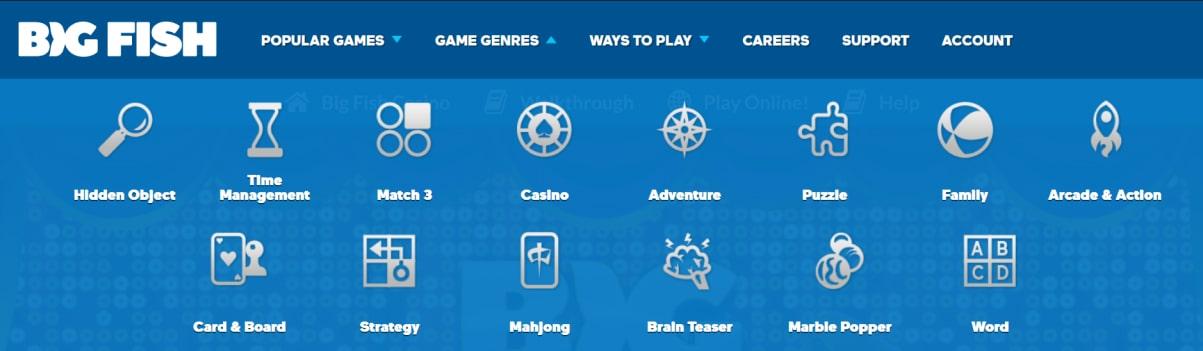 Big Fish Casino Games