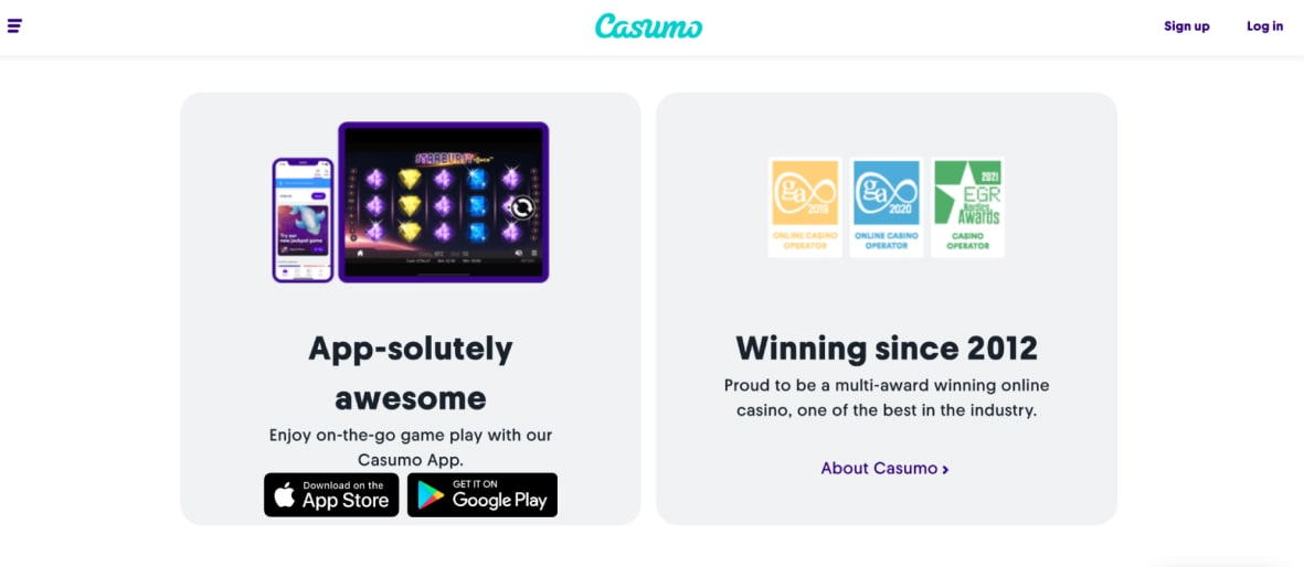 Mobile App Casumo