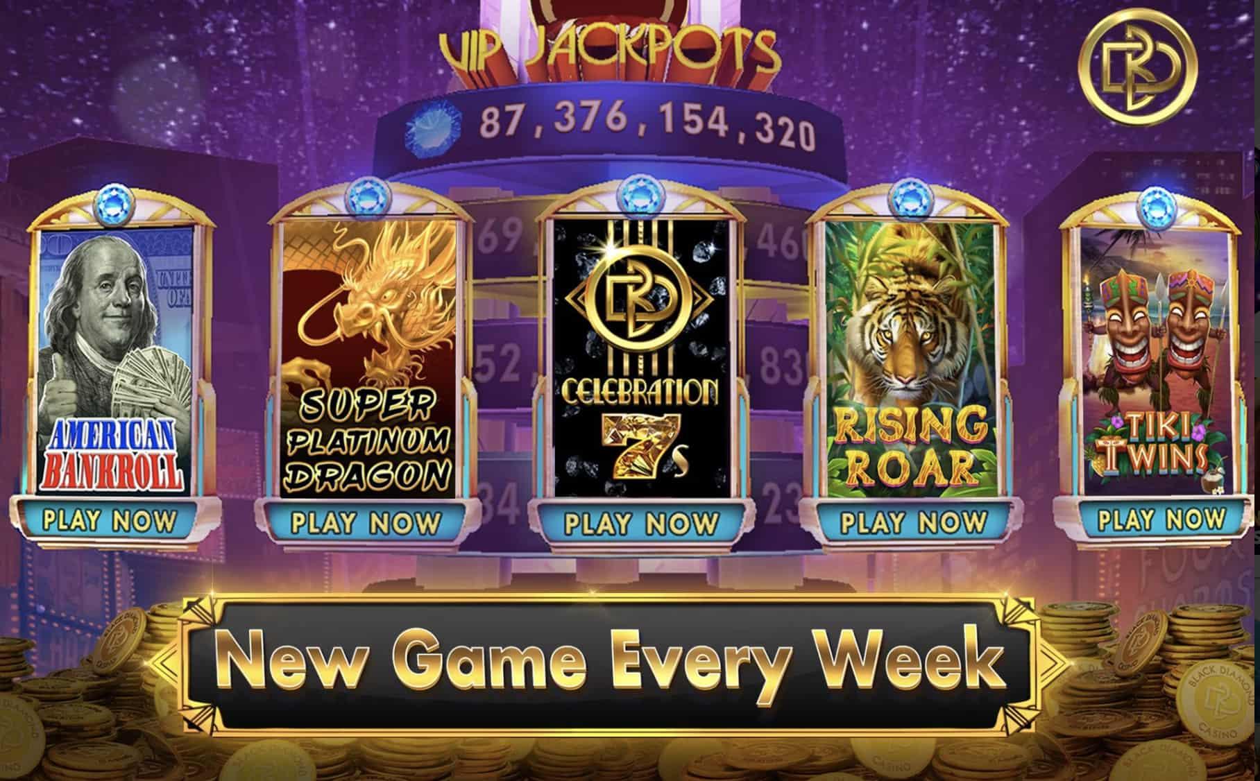 Games Offered Black Diamond