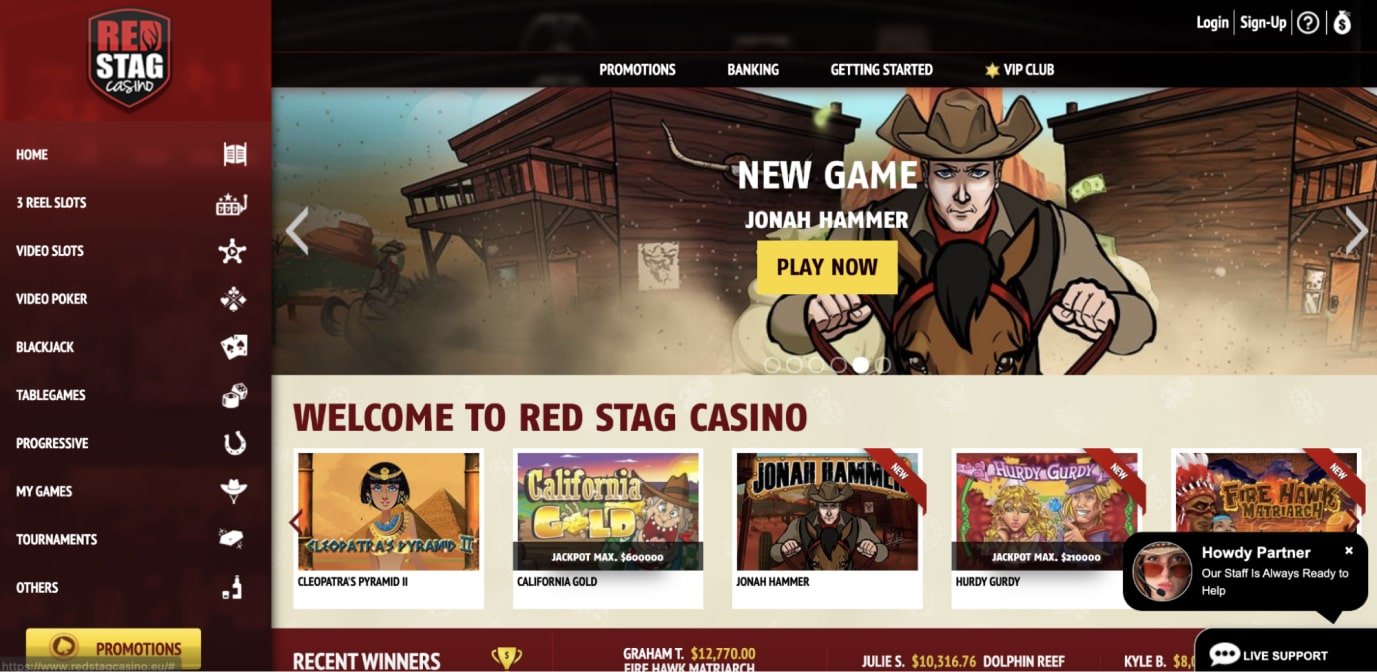 An Honest Red Stag Casino Review for Amateurs