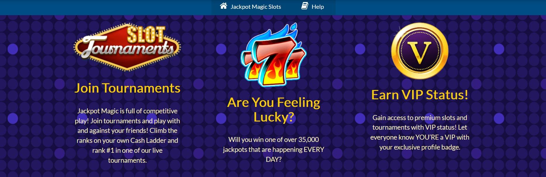 Jackpot Magic Slots VIP Program