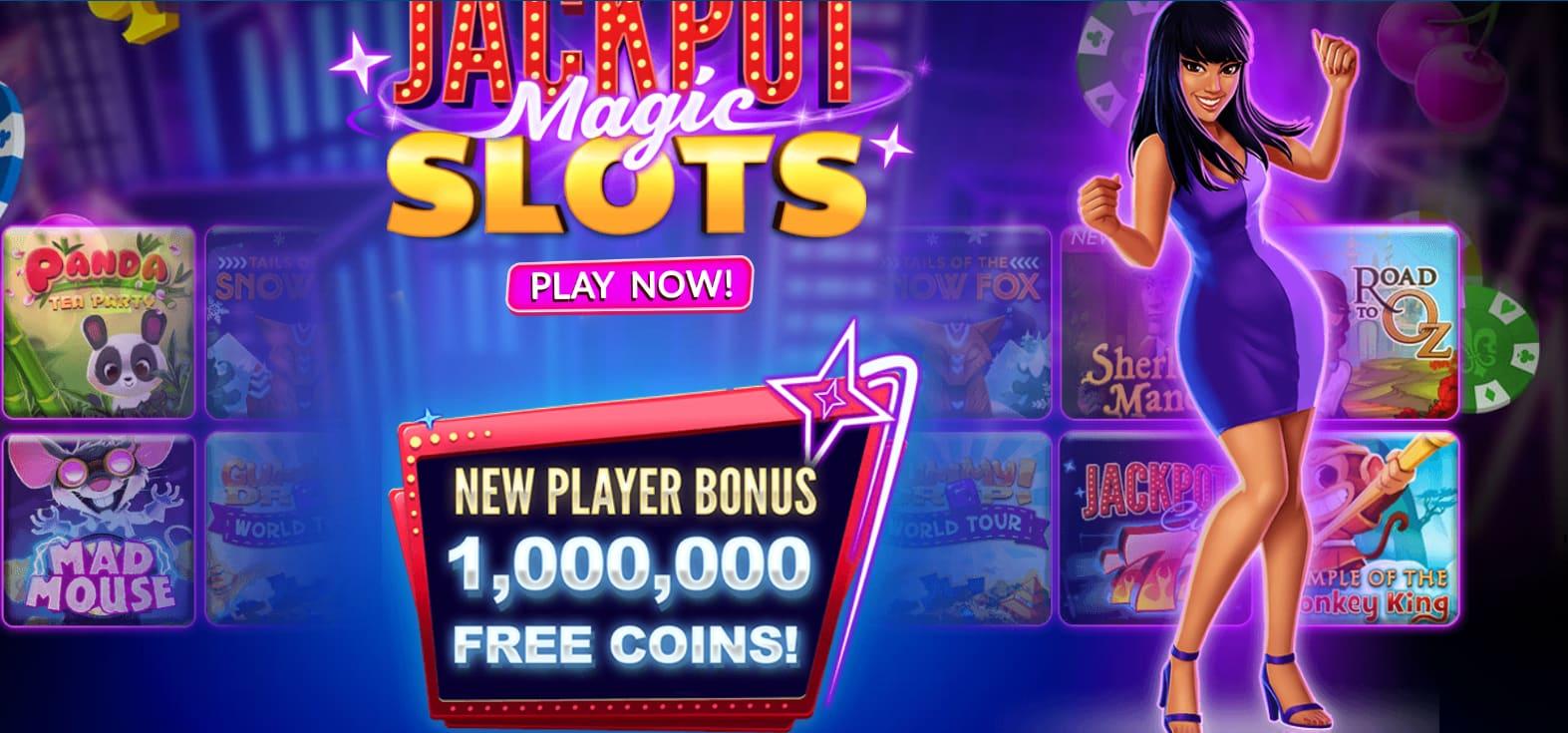 Welcome Bonus – Get 1,000,000 Jackpot Magic Slots