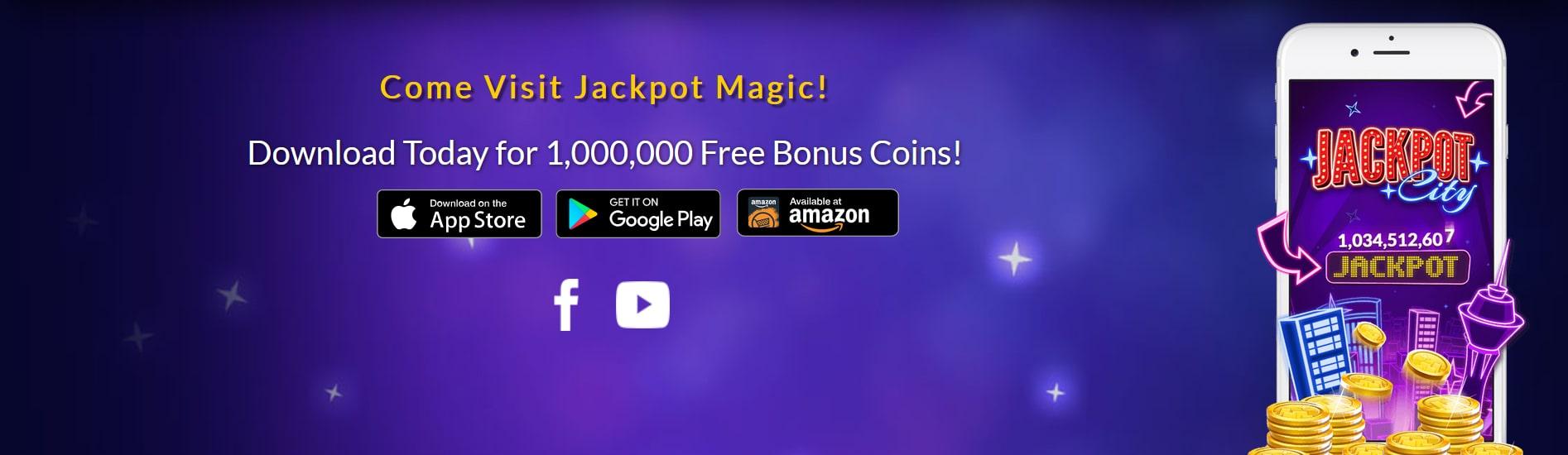 Jackpot Magic Slots Mobile App