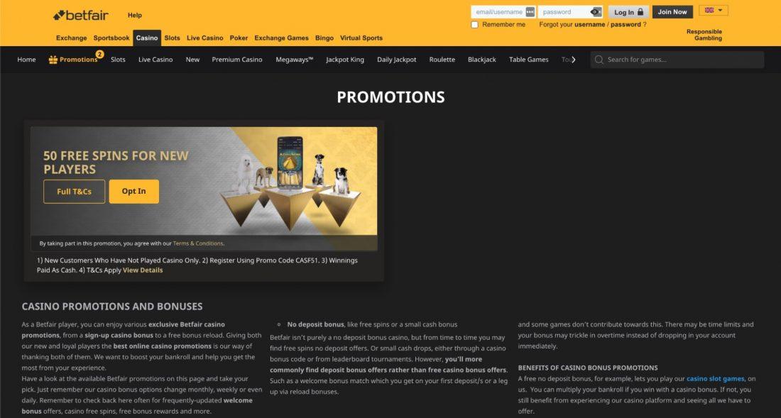 betfair-casino-promotions