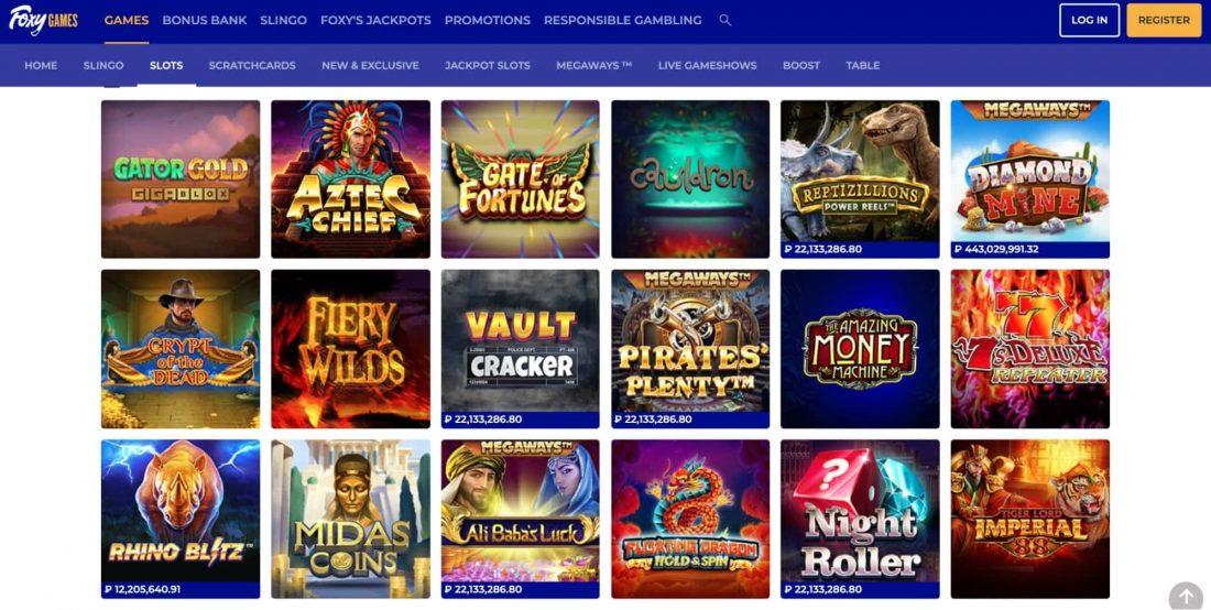 foxy-casino-games