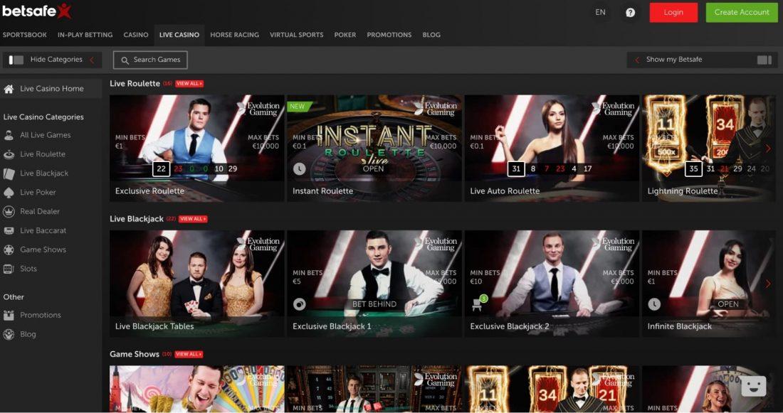 betsafe-live-casino