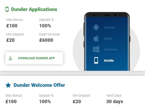 dunder-casino-mobile-app