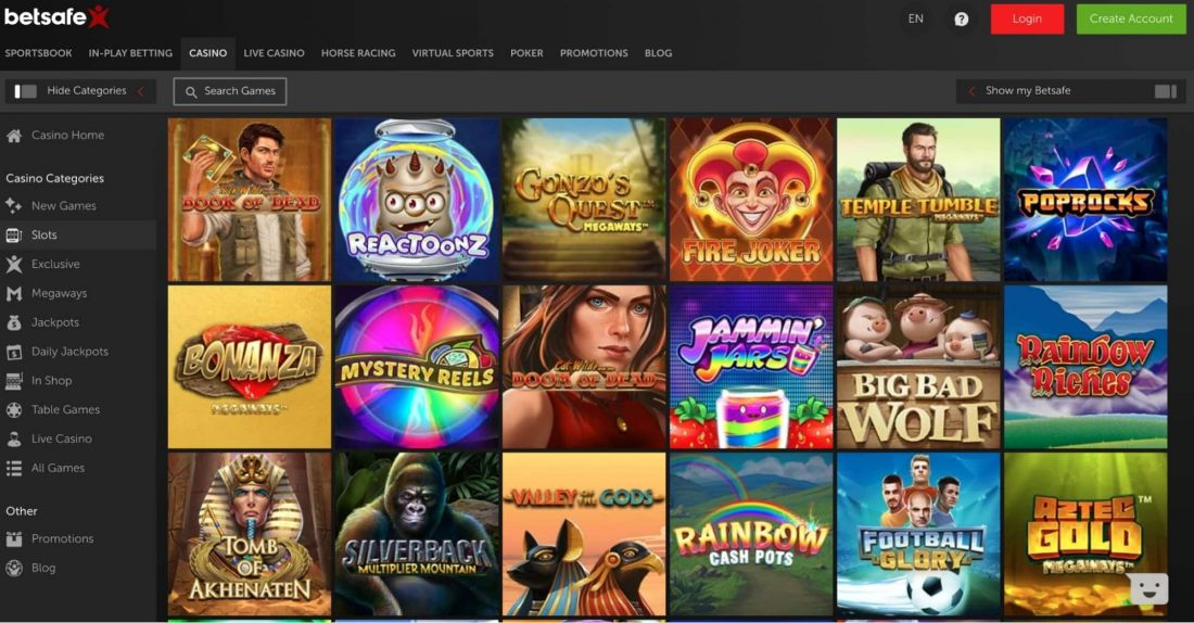 betsafe-casino-games