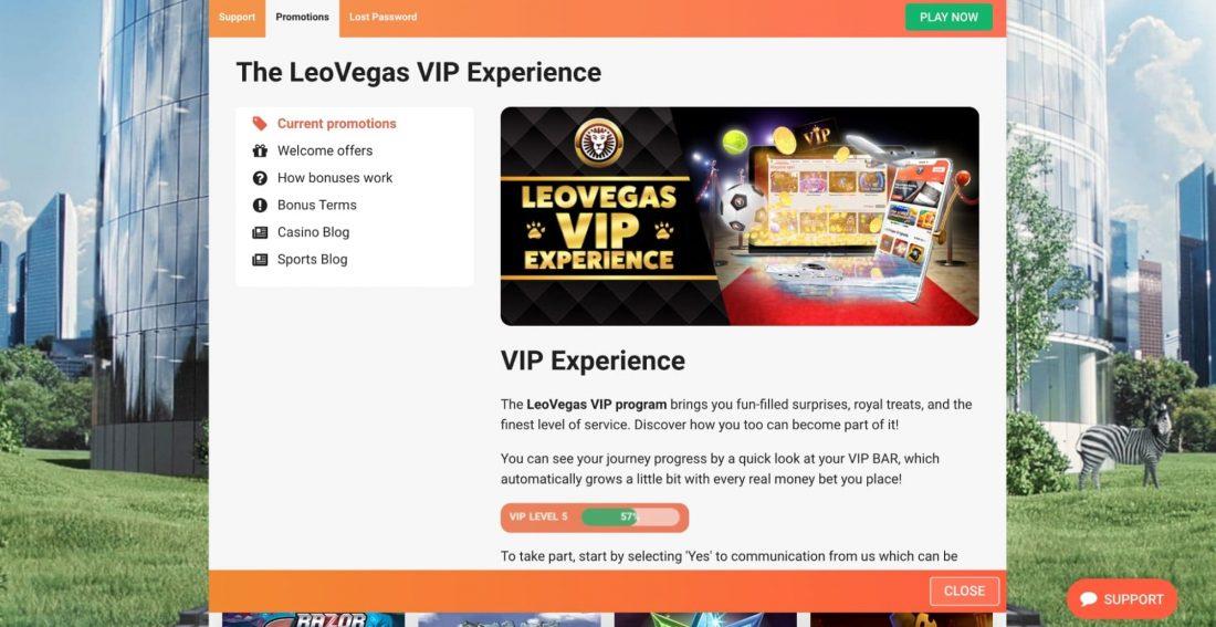 leovegas-casino-vip-program