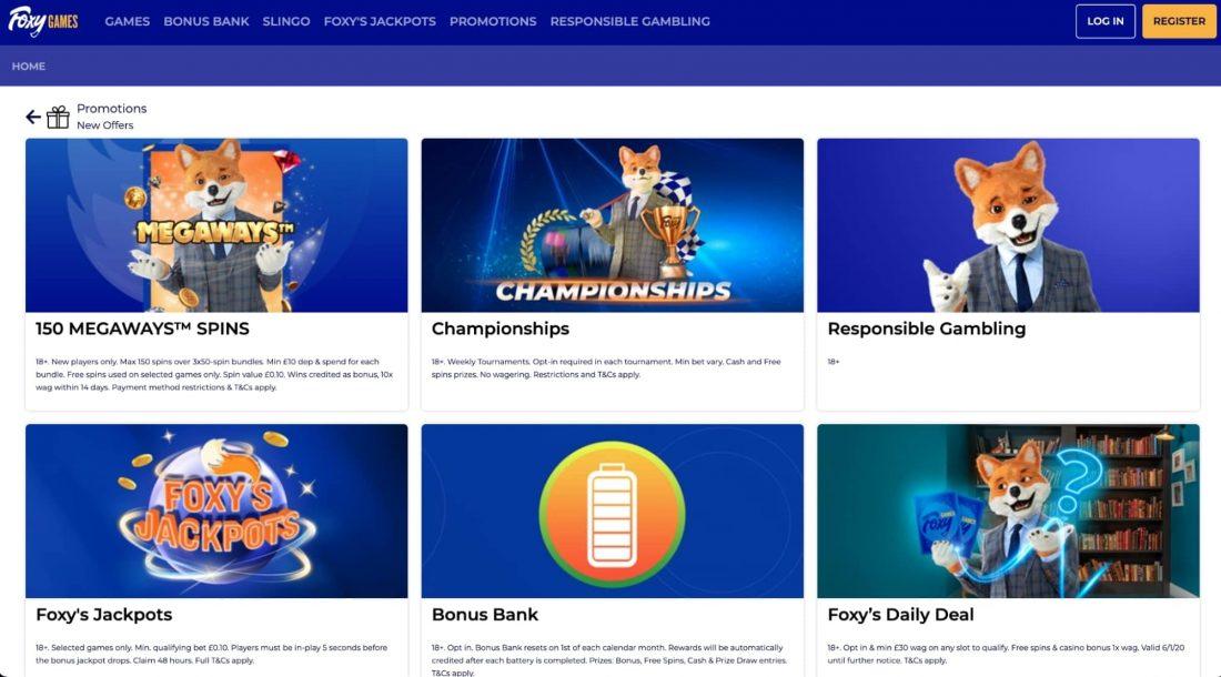 foxy-casino-promotions