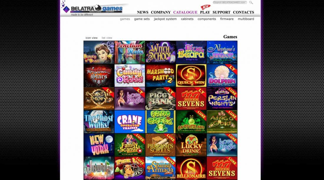belatra games offered
