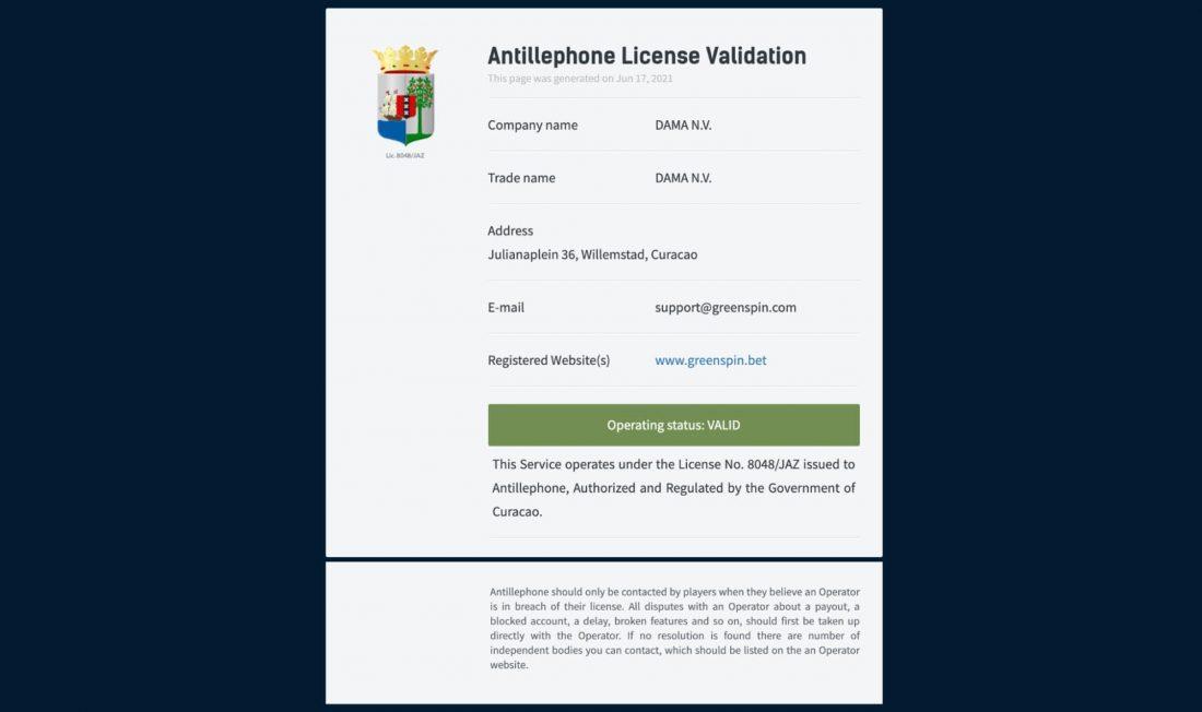 license-validation