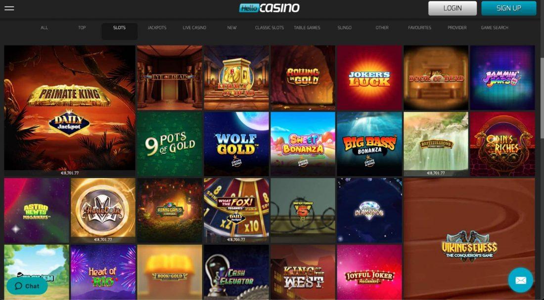 Hello-Casino-games