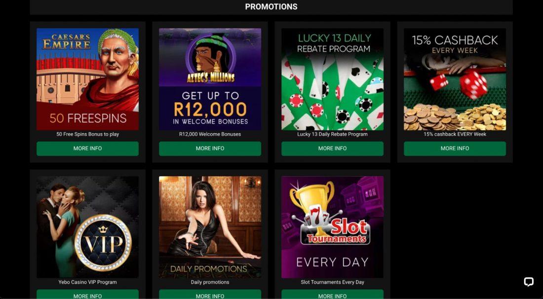 Yebo-Casino-promotions