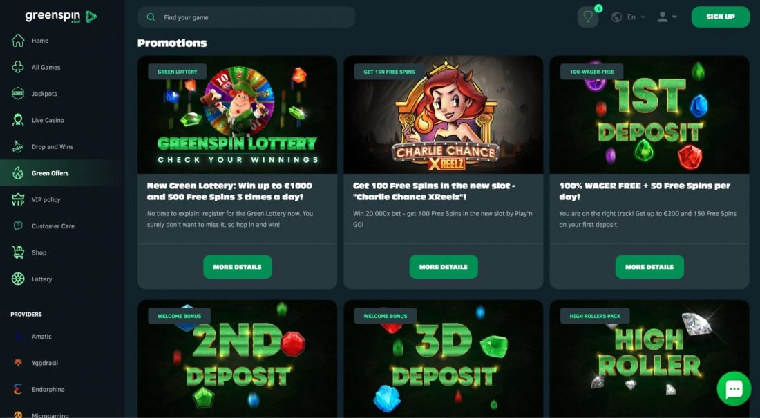 GreenSpin-Casino-promotions