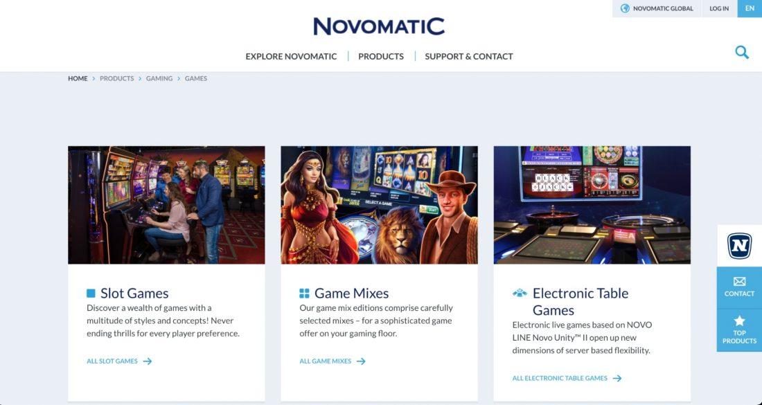 Novomatic Software image
