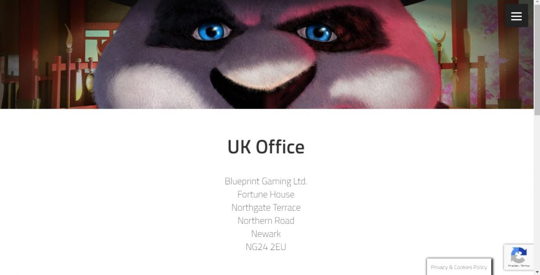 Blueprint Gaming contacts