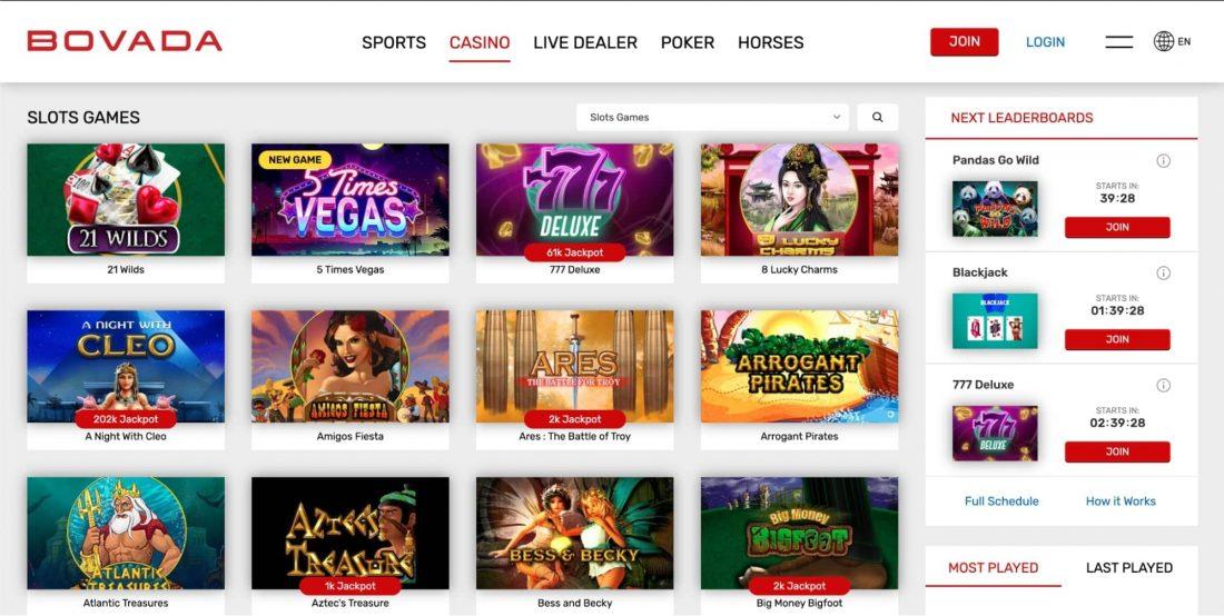 bovada-casino-slot-games