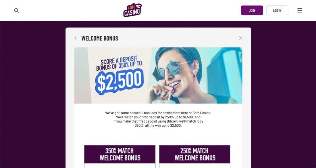 cafe-casino-welcome-bonus