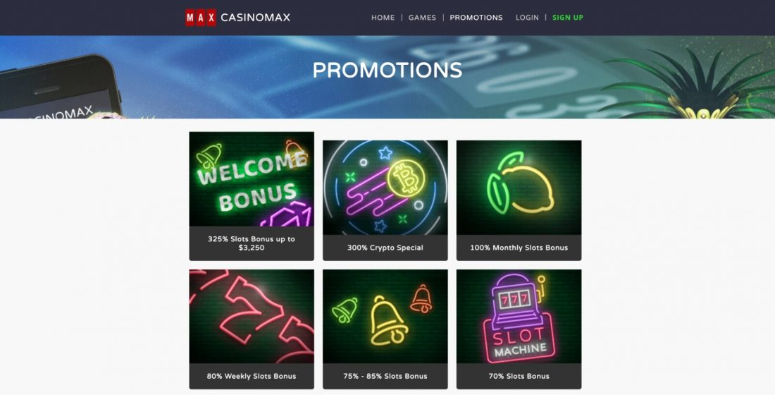 casinomax-bonuses-and-promotions