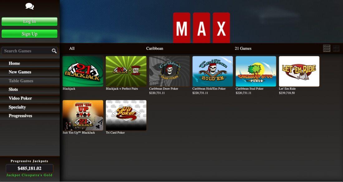 casinomax-table-games