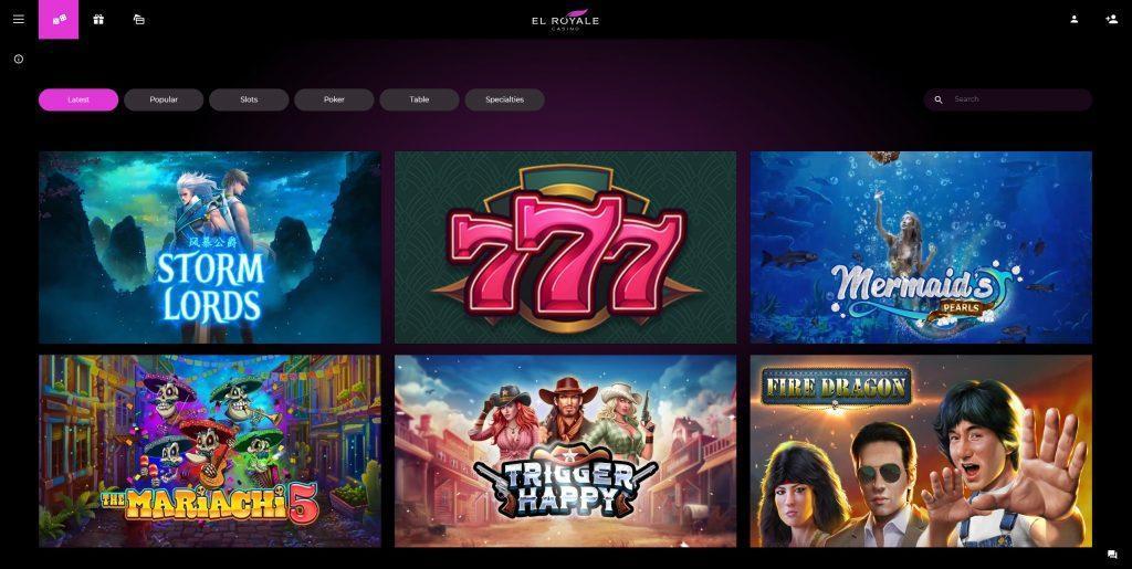 el-royale-casino-games