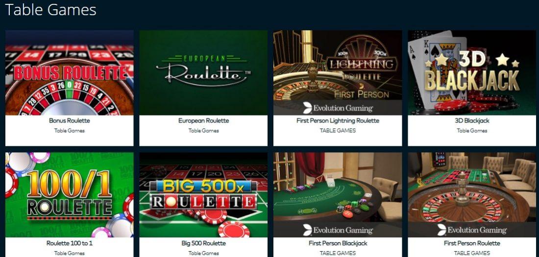 Fun Casino Table Games