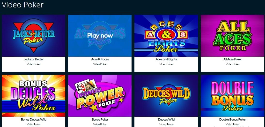 Fun Casino Video Poker