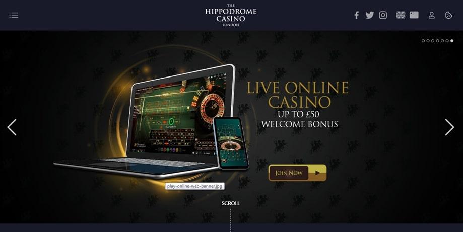 Hippodrome Casino Welcome Bonus