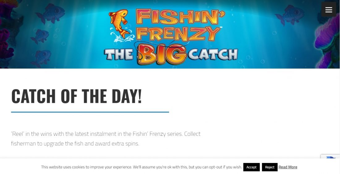 Fishin 'Frenzy Slot