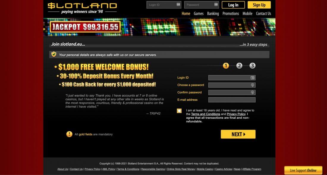 scotland-casino-welcome-bonus