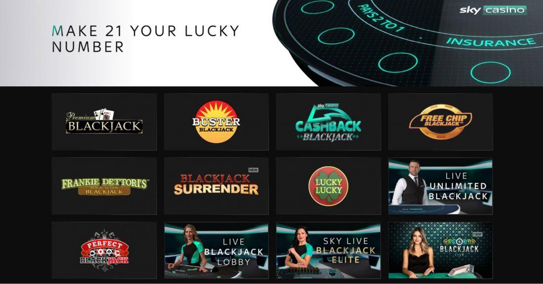Sky Casino BlackJack