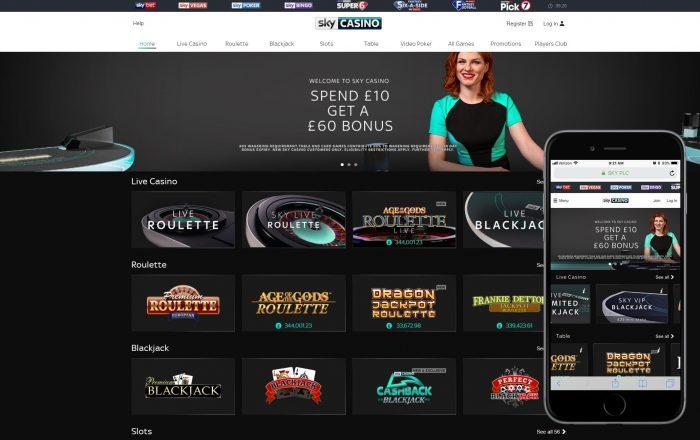 Sky Casino Bonuses