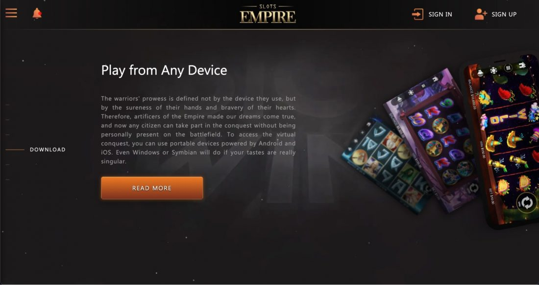 slot-empire-casino-mobile-app