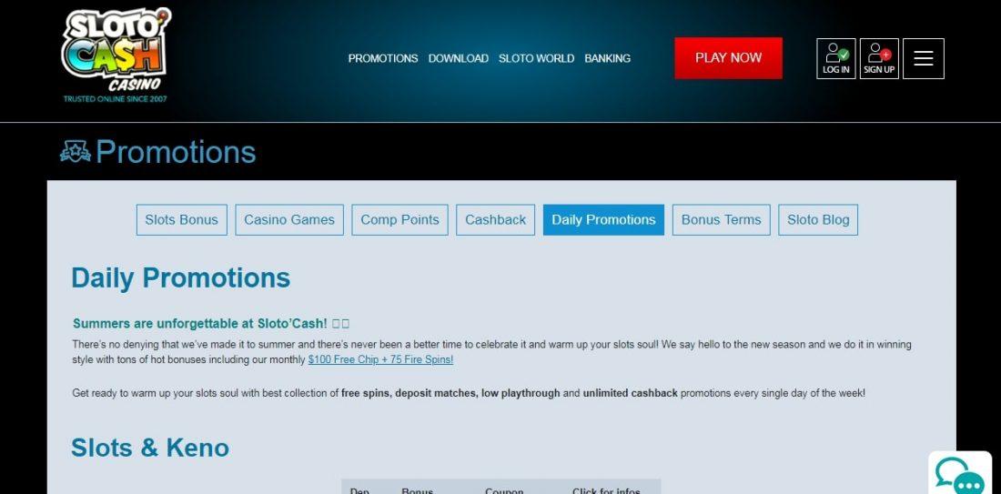 sloto-cash-bonuses-and-promotions