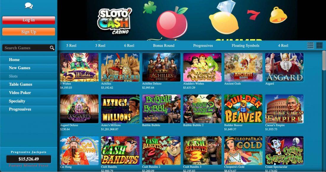 sloto-cash-games
