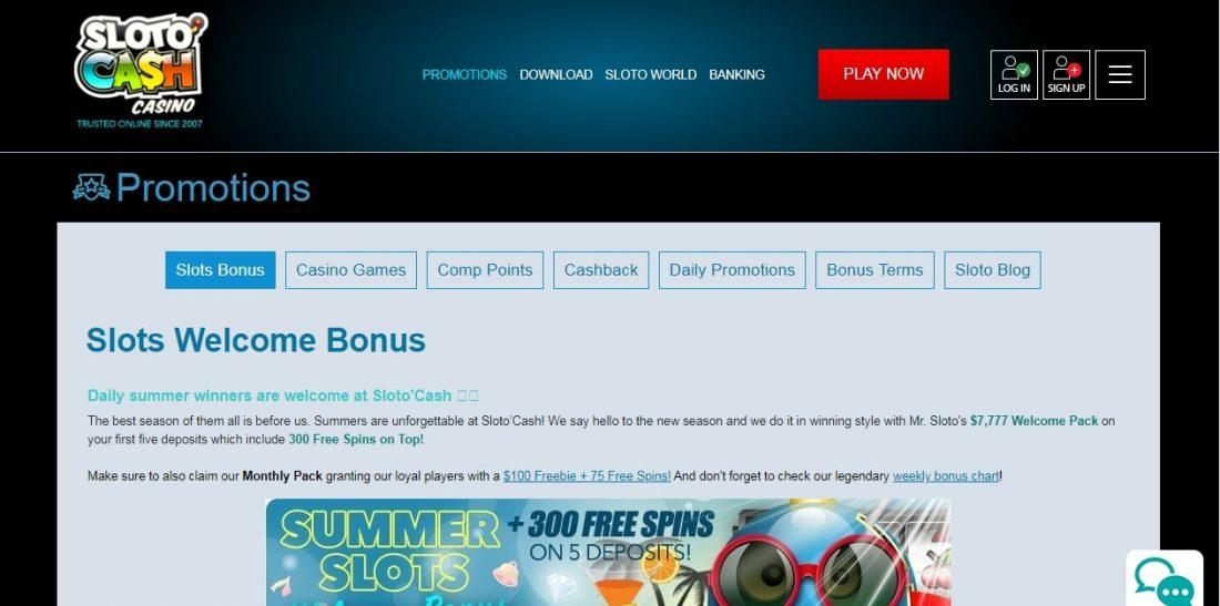 sloto-cash-welcome-bonus