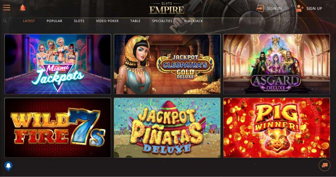 slots-empire-games