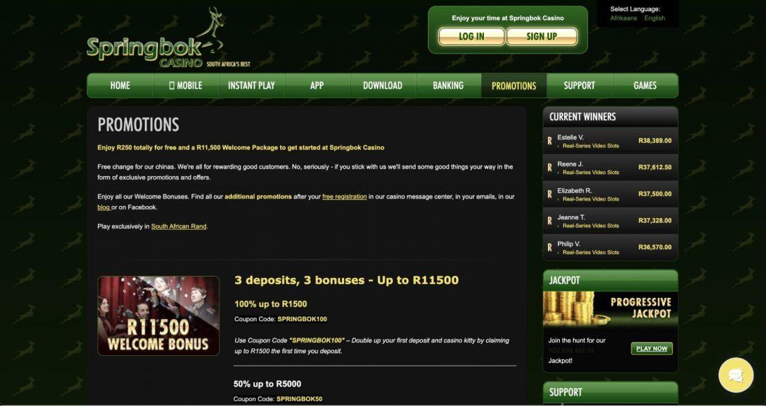 springbok-casino-welcome-bonus