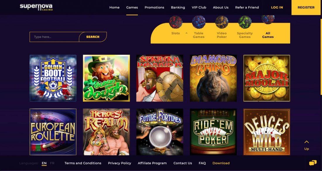 supernova-casino-games