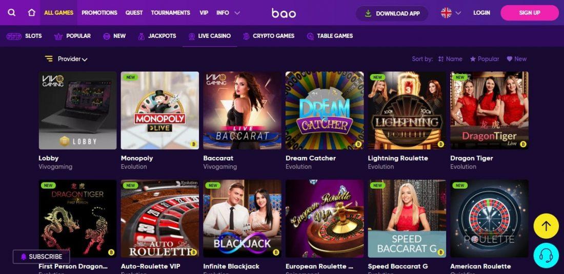 Bao Casino Roulette