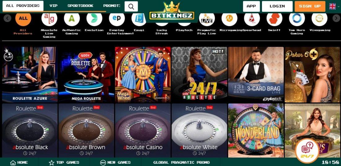 BitKingz Casino Live Dealers