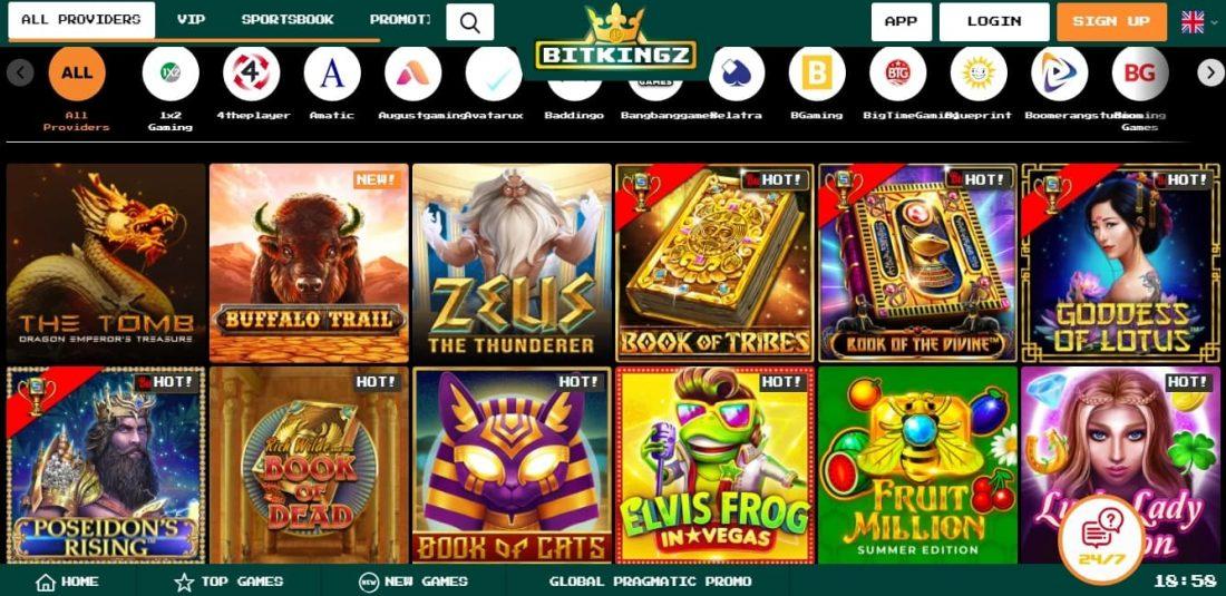 BitKingz Casino Slots