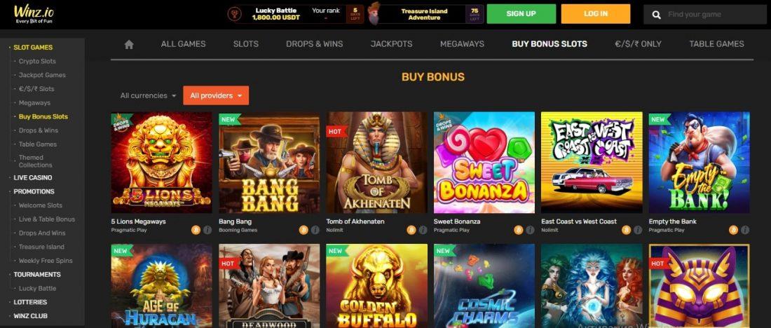Bonus Buy Games