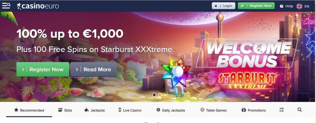 CasinoEuro Welcome Bonus