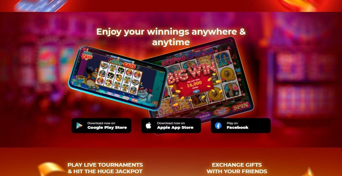 ClickFun Casino Mobile App