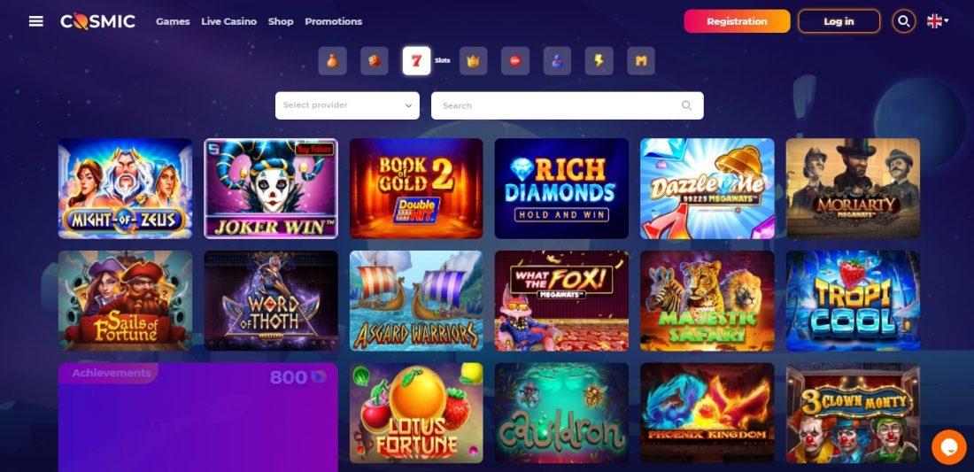 CosmicSlot Casino Slots