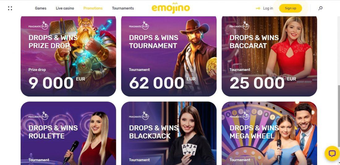 Emojino Casino Promotions